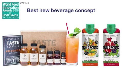 IFE World Food Innovation Awards  best beverage concept