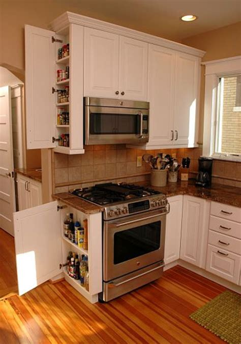 narrow kitchen cabinet ideas top 26 awesome ideas to use narrow or dead space in
