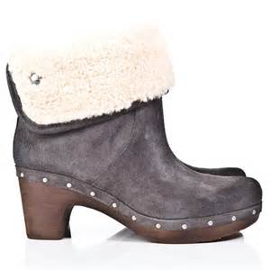 ugg sale ankle boots ugg leather lynnea grey womens ankle boot