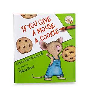 wedding gift registry book buy if you give a mouse a cookie hardcover book from bed