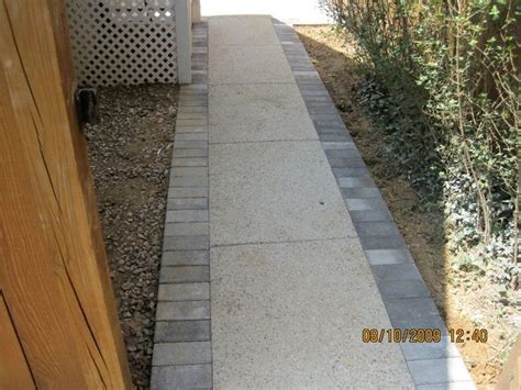 exposed aggregate pavers maryland s patio concrete