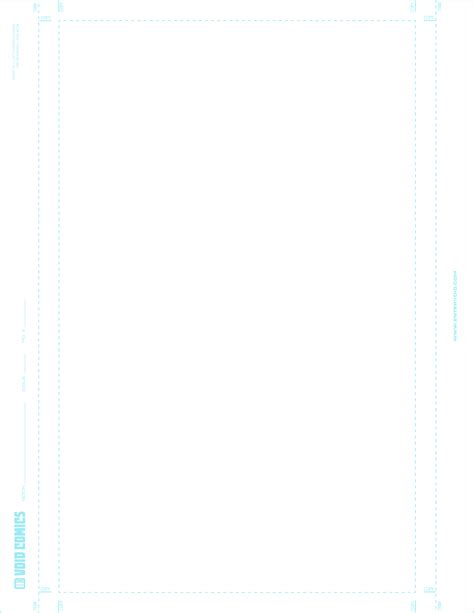 Comic Book Standard 8 5 X 11 Template by 8 5x11 Digital Comic Template Single Page By The Bent