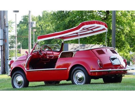 Fiat Jolly For Sale by 1959 Fiat Jolly 500 Convertible For Sale