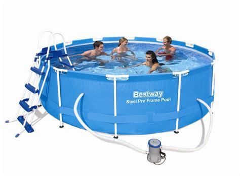 frame pool 366x100 bestway steel pro pool set 366x100 56418