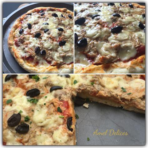 pizza pate feuilletee thon pizza creme de thon chignon a la p 226 te magique amel d 233 lices