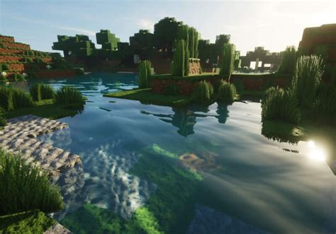 minecraft shader pack adds ray tracing style effects