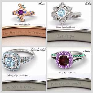Disney princess wedding rings disneyd pinterest for Disney princess wedding rings