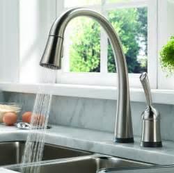 delta pilar kitchen faucet the best kitchen faucets sweetremodel