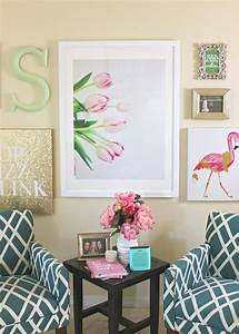 Lilly Pulitzer-Inspired Wall Art Collage Diary of a