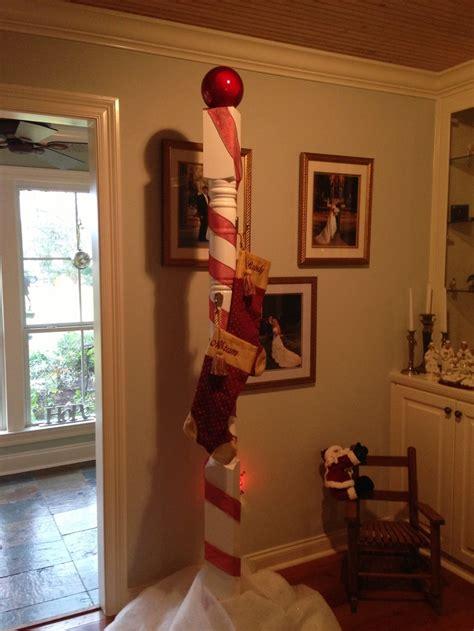 north pole stocking holder   grandkids christmas