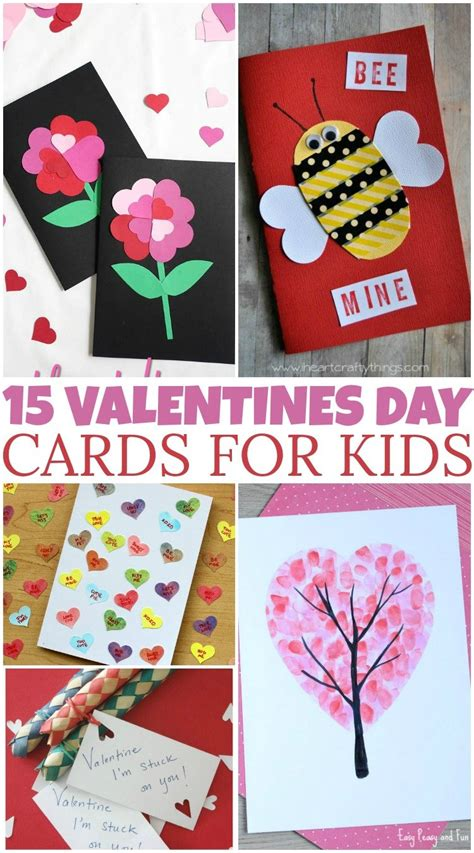 Valentine's Day Card for Kids to Make