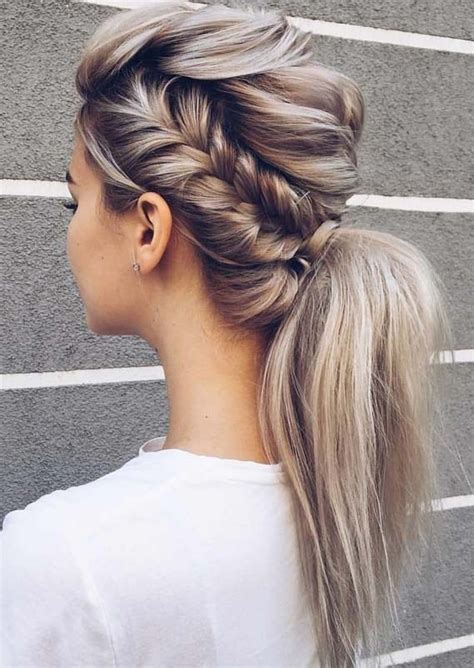 Braided Ponytail Hairstyles For by Modern Trends Of Braided Ponytail Hairstyles For 2018