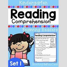 Kindergarten Reading Comprehension (set 1) By Teaching