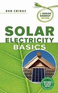 Solar Electricity Basics  Pdf   By Dan Chiras
