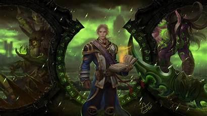 4k Warcraft Legion Ultra Wallpapers Gameranx Links