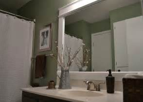 bathroom mirror ideas dwelling cents bathroom mirror frame