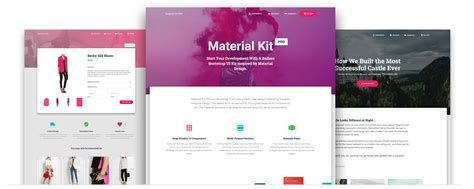 bootstrap material design 183 the most popular html css and js material design library in the world