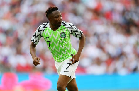 Nigeria Bright Trippy Uniforms Hit Among World Cup