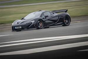 2014 Mclaren P1 Black Front Three Quarter In Motion 06 ...