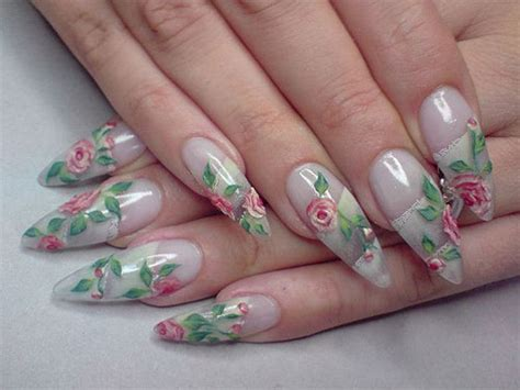 15 + Simple Acrylic Nail Art Designs, Ideas, Trends