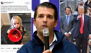 Trump Jr Reveals He's Taking Daughter's Candy 'To Teach ...