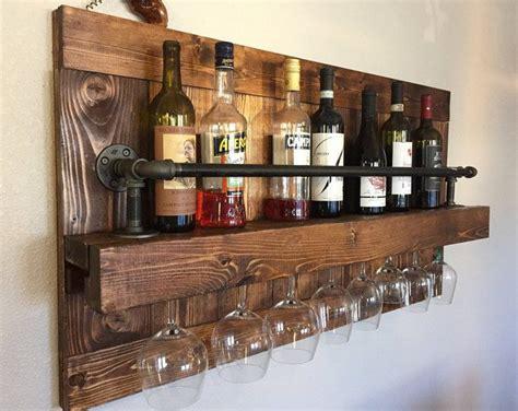 reclaimed pallet wood wine rack rack  handmade
