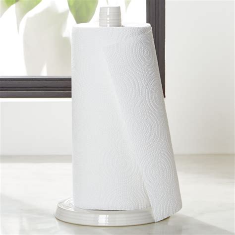 farmhouse white paper towel holder reviews crate