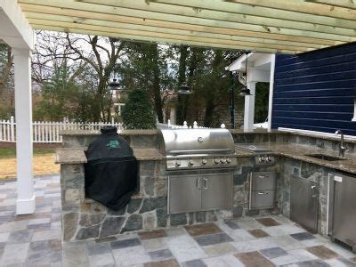 outdoor kitchen designs installation jj landscape
