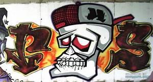 Graffitis Chidos De Calaveras