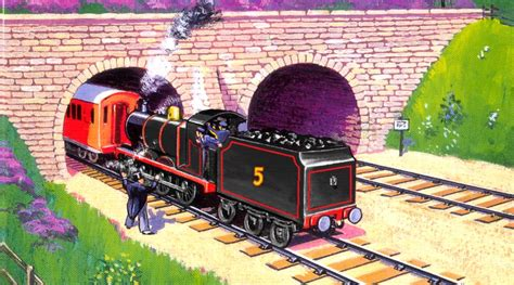 theironengine on quot in his original black livery in the railway series