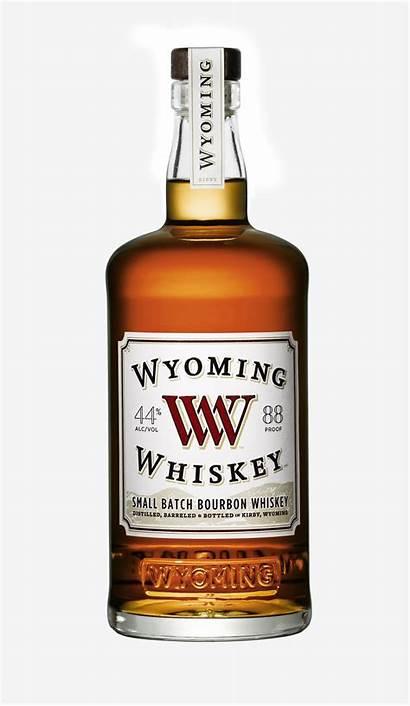 Whiskey Wyoming Bourbon Batch Bottle Scotch American
