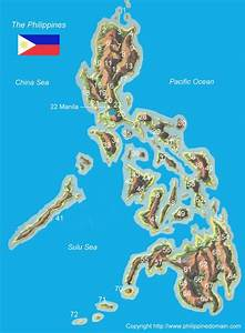 Philippines Map - Map of the Philippines  Philippine