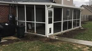 Retractable Awning With Screen Room