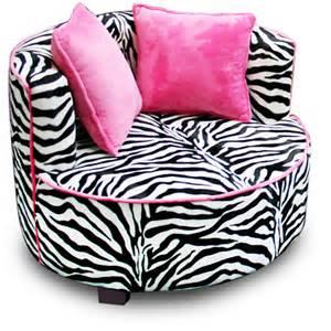 redondo tween minky chair zebra walmart com