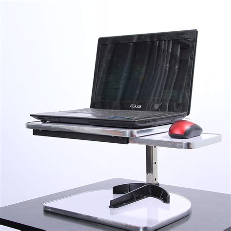sit stand laptop desk standing desk lifting laptop stand desk table height