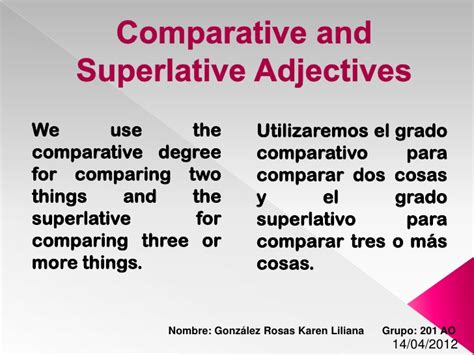 Adjectives To Use On Resumeadjectives To Use On Resume by Comparative And Superlative Adjectives