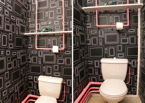 peinture chambre garcon tendance déco originale pour wc