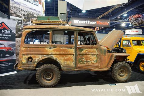 jeep wagon 2016 2016 sema crown willys station wagon