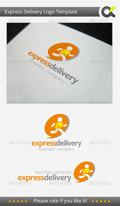 express template express delivery logo template graphicriver