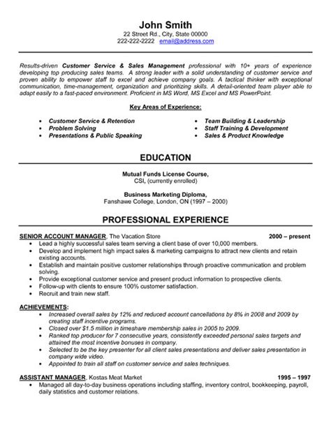 Sle Account Manager Resume by Senior Account Manager Resume Template Premium Resume