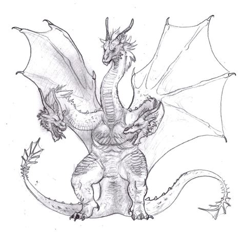 The only ones who can stop him are baragon, mothra, and strangely enough, king ghidorah. King Ghidorah Redesign by carcaradontalicious on DeviantArt