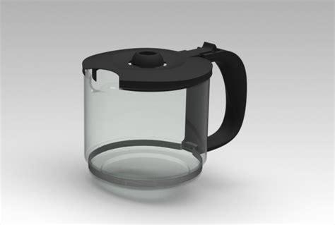 Trust me, it's worth it. Coffee maker | 3D CAD Model Library | GrabCAD