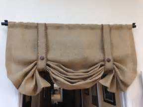 Country Kitchen Curtains And Valances by Burlap Valance London Shade For Her Gifts Stage Coach