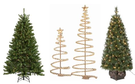 lowes real christmas tree lowe s artificial trees 50 hip2save