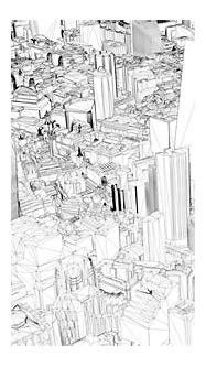 Base 3D Model of London - City of London Wireframe ...