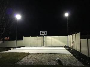 outdoor sport court lighting dbunk backyard basketball With outdoor lighting for home basketball court