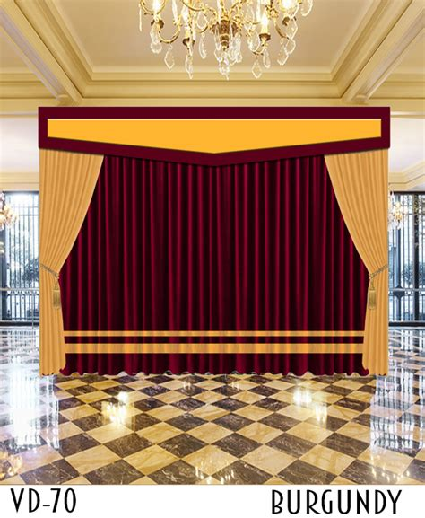 church drapes luxury hotel stage church curtains