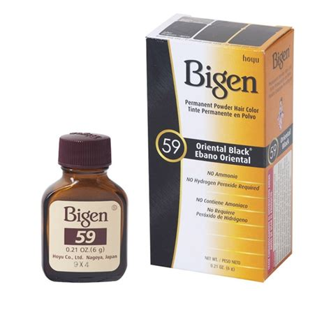 bigen permanent powder oriental black hair color hoyu