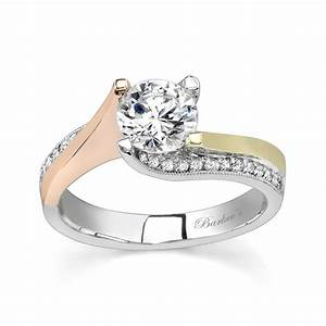 barkev39s tri color engagement ring 7171lt With wedding rings with color