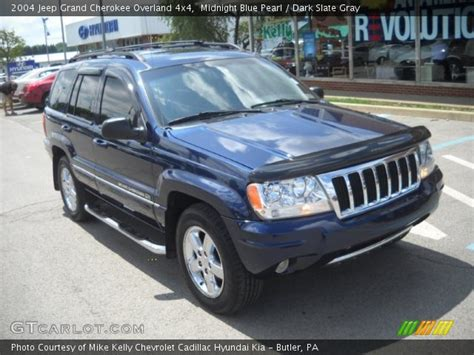 blue jeep grand cherokee 2004 midnight blue pearl 2004 jeep grand cherokee overland